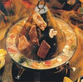 Tatarenhut-Fondue in Aktion